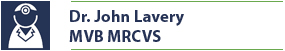 Name Plate for Dr. John Lavery, veterinary surgeon